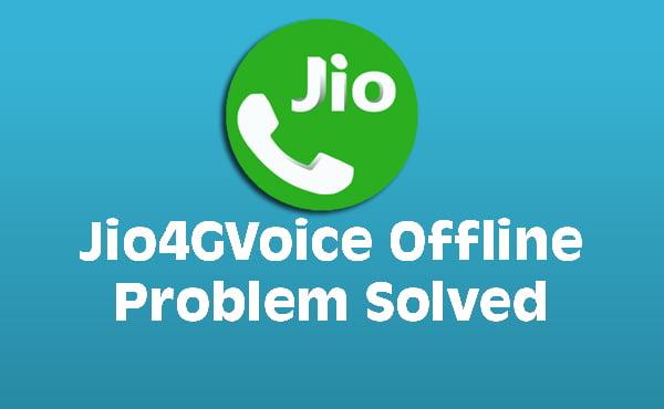 Jio Calling Problem  -Jio4gvoice Offline Solution In Hindi
